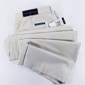 Tommy Hilfiger Golf pleated beige pants - 40x32